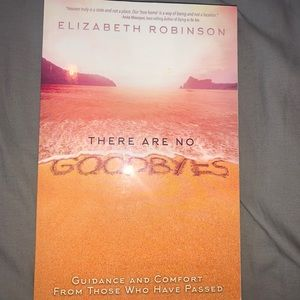(3/$20) There are no goodbyes book